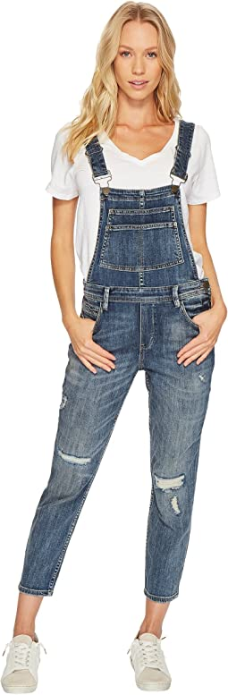 Blank NYC Denim Overalls in Disco Nap