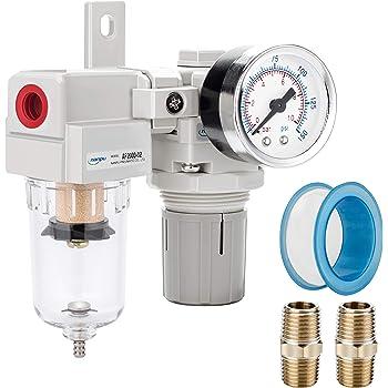 ARO C38231-600-VS Air Filter-Regulator-Lubricator Combination 3//8 NPT Renewed