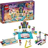 LEGO Friends Stephanie's Gymnastics Show 41762 Building Kit, New 2019 (241 Pieces)