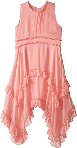 Nanette Lepore Kids - Crinkled Chiffon Dress (Little Kids/Big Kids)