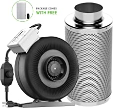 VIVOSUN 4 Inch 203 CFM Inline Duct Fan with 4