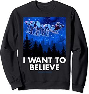 AT-AT Reindeer I Want To Believe Holiday Sweatshirt