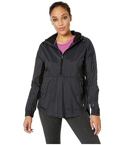 Smartwool Merino Sport Ultra Light Anorak Pullover (Black) Women