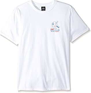 OBEY Men's Discotheque Regular Fit Basic T-Shirt