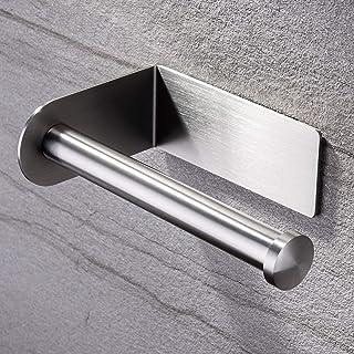 ZUNTO Porte Papier Toilette Acier Inox Porte Rouleau Papier Hygiénique Adhésif