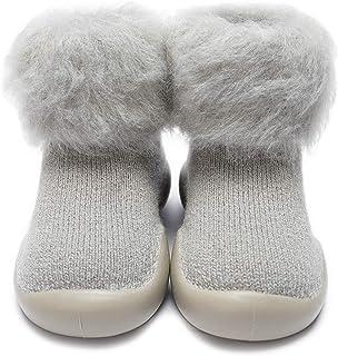 Calcetines Zapatos Antideslizantes Invierno para Bebé