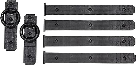 Cre8tive Hardware Rustic Rings Magnetic Garage Door Hardware (6 Piece)