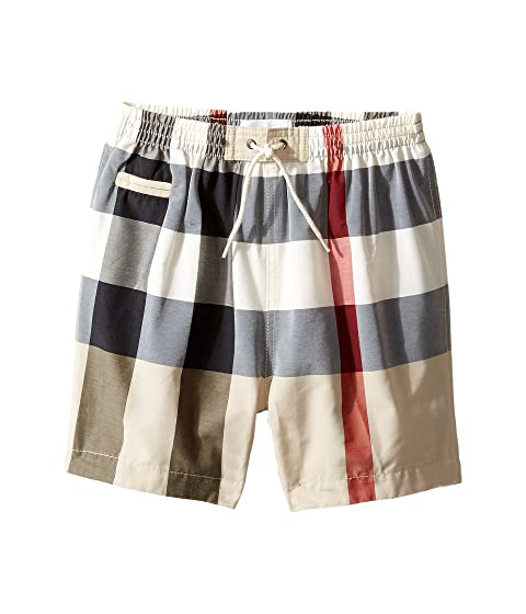 d9b295728282 Burberry Kids Saxon Swim Trunk (Infant Toddler) at Luxury.Zappos.com