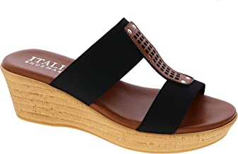 ITALIAN Shoemakers Women's, Bello Wedge Sandal