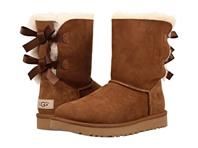 UGG Bailey Bow II (Chestnut) Women