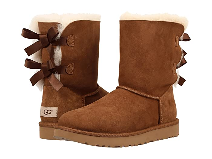 UGG  Bailey Bow II (Chestnut) Womens Boots