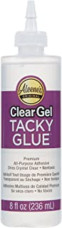 Aleene's Gel Glue, 8-Ounce, Clear (32253)