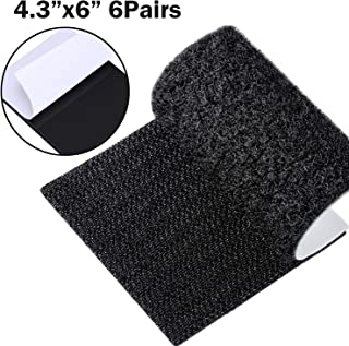 Anycraft-uk adhésif collant Arrière Crochet /& Boucle bande noir ou blanc