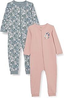 NAME IT Baby-Mädchen Kleinkind-Schlafanzüge 2er Pack