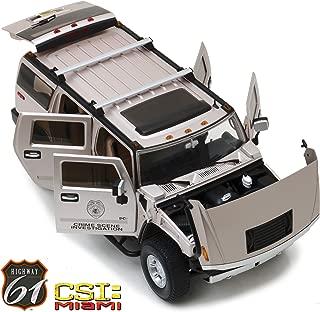 2003 Hummer H2 CSI: Miami (2002-2012) TV Series 1/18 Diecast Car Model by Highway 61 18006