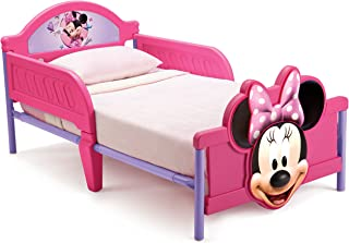 Disney Minnie Mouse Themed Toddler Bed by Delta Kids, Pink, BB86682MN