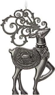 Hallmark Keepsake Christmas 2019 Year Dated Regal Deer Ornament, Metal