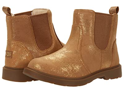 UGG Kids Bolden Metallic (Little Kid/Big Kid) (Metallic Gold) Girl