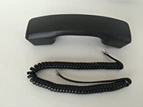 The VoIP Lounge Replacement Black Handset with 9 Foot Cord for Panasonic KXT7700 Series Phone KXT7720 KXT7730 KXT7731 KXT7736