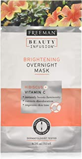 Freeman Beauty Infusion Mask Brightening Pack (6 Pieces) Display