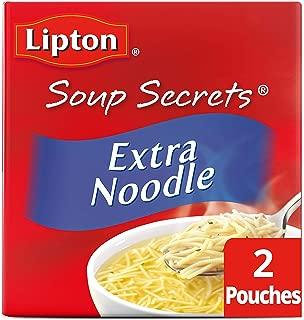 Lipton Soup Secrets with Real Chicken Flavor Extra Noodle Soup Mix 4.9 oz 2 ct