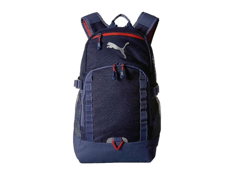 PUMA Evercat Fraction Backpack (Navy) Backpack Bags