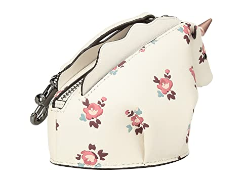 COACH Floral Bloom Uni Coin Case DK/Chalk Multi Fashion Style For Sale Inexpensive Free Shipping Clearance Outlet 2018 New LCjdZNZosu