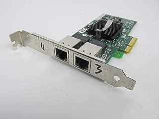 HP NC360T PCIe 2 Port Gigabit Adapter 412651-001 w/Full Bracket