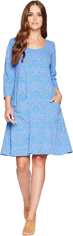 Mosaic Shells Dalia Dress