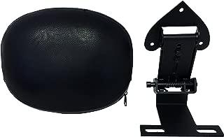 Round - Fully Adjustable Driver's Backrest for Yamaha V-Star 950 1300