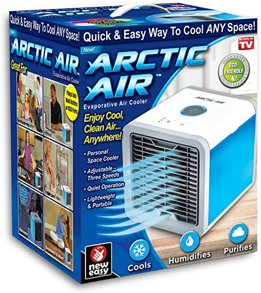 Ontel Arctic Personal Air Cooler White