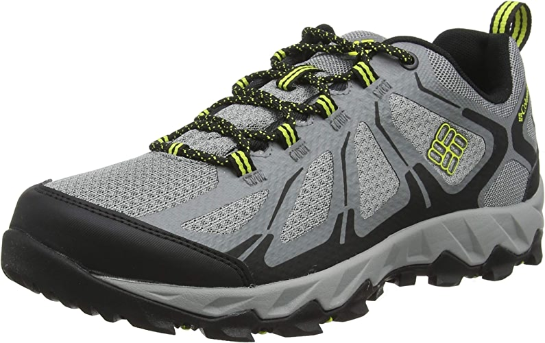 Columbia Homme Chaussures Multisport, Imperméable, PEAKFREAK XCRSN II XCEL LOW OUTDRY, Taille 47, gris (Monument, Zour)