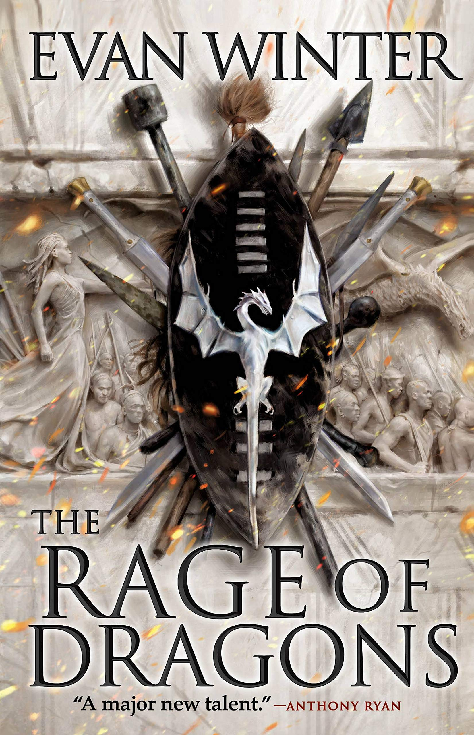 The Rage of Dragons (The Burning Book 1)