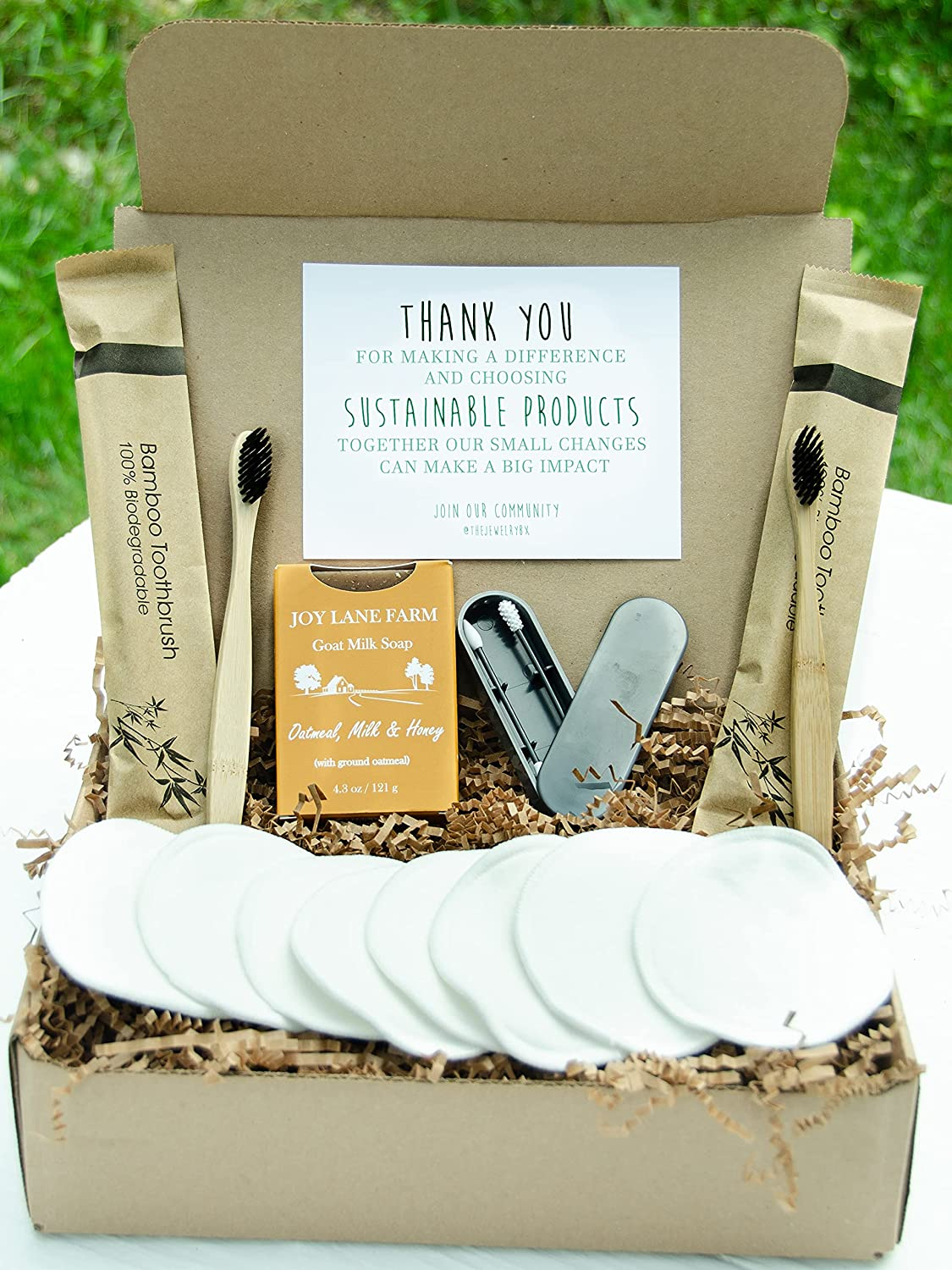 Eco-Friendly 15 Piece Sustainable Self Gift Box Sale Reusabl Lowest price challenge Care Kit
