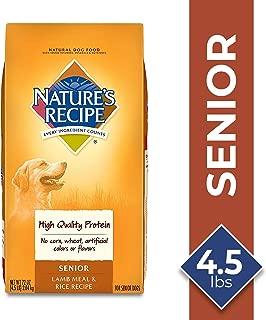 Nature's Recipe Senior Dry Dog Food Lamb Meal & Rice Recipe