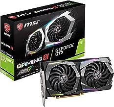 MSI Gaming GeForce GTX 1660 Ti 192-bit HDMI/DP 6GB GDRR6 HDCP Support DirectX 12 Dual Fan VR Ready OC Graphics Card (GTX 1...