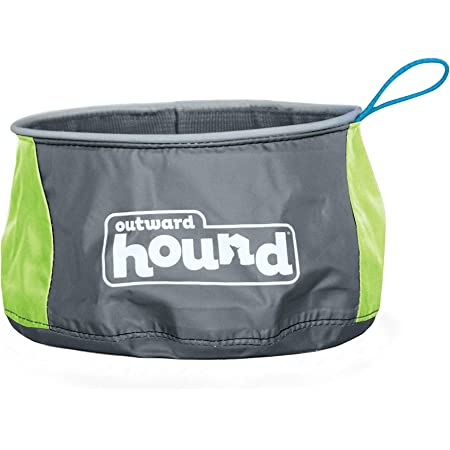 Outward Hound Port-A-Bowl Portable Dog Dish, 48 oz