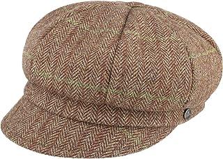 Lierys Berretto Newsboy Shetland Wool Melange Donna - Made in Italy Cappellino da Berretti con Visiera Cappello Baker Boy ...