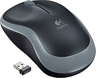 Logitech Wireless Mouse M185 - Swift Gray