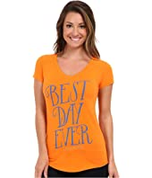 Life is Good - Positive State of Mind Tech V-Neck Tee