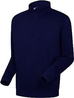 FootJoy New Drop Needle Half Zip Golf Pullover