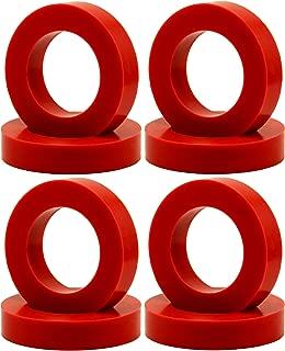 """Eurotubes """"EuroDamper"""" Tube Damper Rings for Octal Base Power and Rectifier Tubes. Set of 8."""