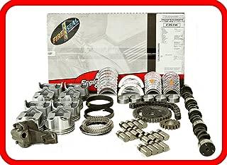 Master Engine Rebuild Kit FITS: 86-92 Chevrolet SBC 350 5.7L V8 w/Stage-1 HP Cam & Flat-Top Pistons