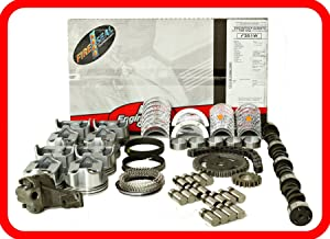 Master Engine Rebuild Kit FITS: 67-85 Chevrolet SBC 350 5.7L V8 w/Stage-2 HP Cam & Flat-Top Pistons