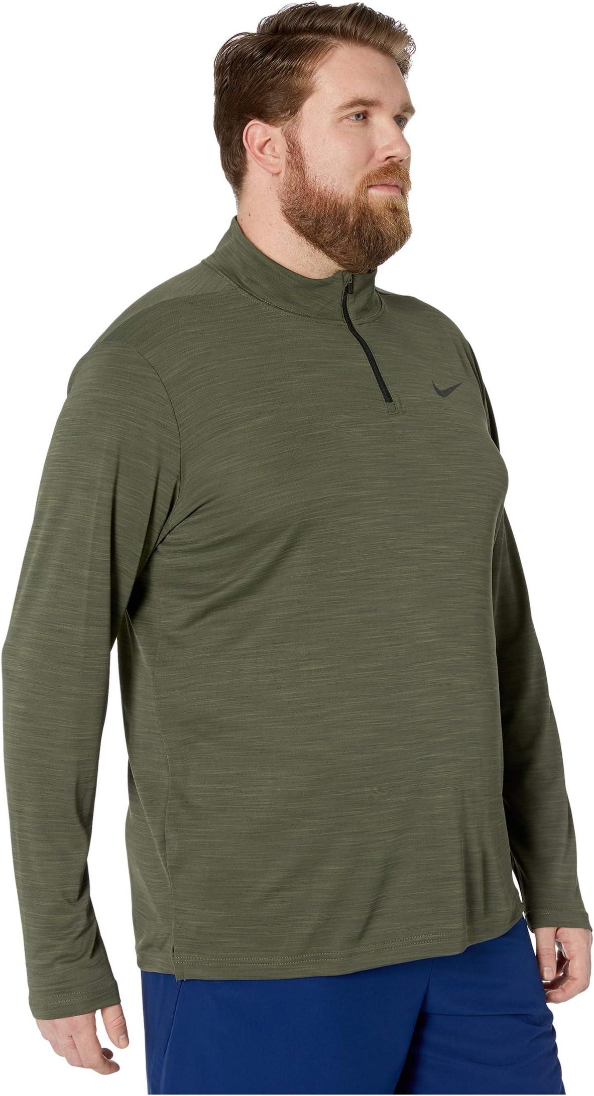 Nike Big & Tall Superset Top Long Sleeve 1/4 Zip e1RRV