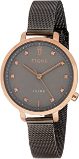 FJORD Women's FJ-6044-55 Analog Quartz Grey Watch