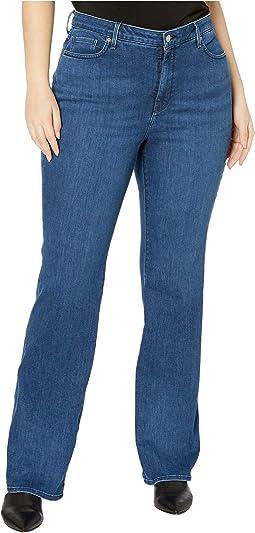 NYDJ Barbara Bootcut Dark Wash Denim Jeans Size Choice 00P or 0P