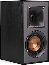 Klipsch R-41M Powerful Detailed Bookshelf Home Speaker Set of 2 Black (Renewed)