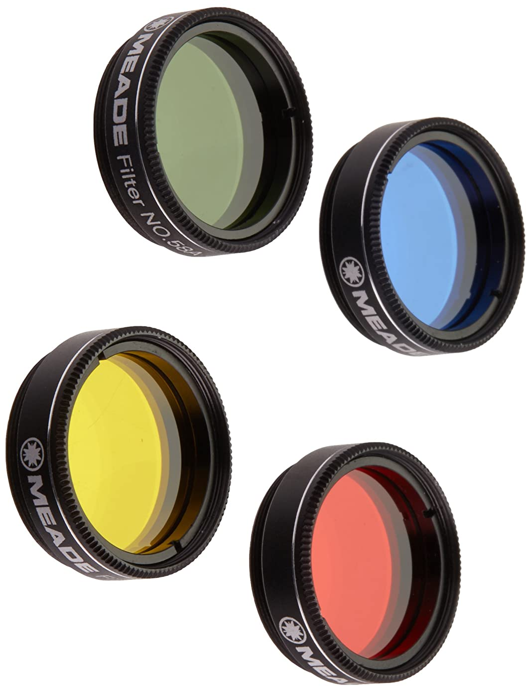Meade 07530 Series 4000 Color Filter Set No.1 (Black)