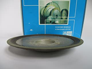 10mm. 100//80 Micron Hole 0.79 Dia 4 180 Grit 100mm. Type: 12A2-45 Cup Tool Diamond Grinding Wheel Width: 0.4 20mm.